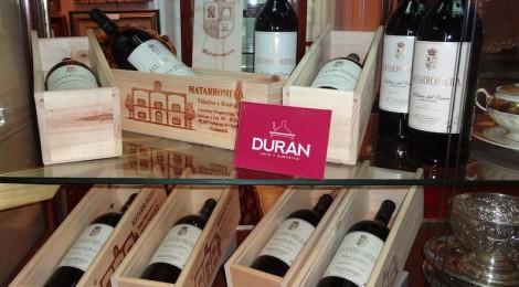 Lotes de vinos de las bodegas del GRUPO MATARROMERA. Subasta 497, Mayo 2013. Foto: Durán Arte y Subastas.