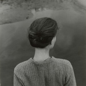 Emmet Gowin, Edith, Chincoteague, Virginia, 1967.  © 2013 Emmet Gowin.