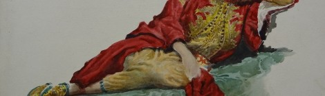 """Juan José Gárate Clavero, """"Odalisca"""". Primera exposición con venta directa de obra del artista. Sala de Durán Arte y Subastas. Julio 2013."""