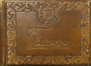 Libro de firmas del Restaurante Chipén. Foto: Durán Arte y Subastas.