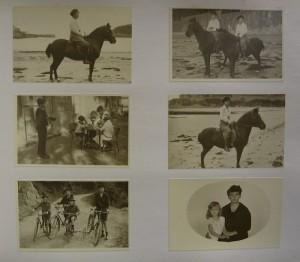 Álbum de foto originales de la estancia de Zita de Borbón-Parma y la archiduquesa María Teresa en Lequeitio (1922-1931). Foto: Durán Arte y Subastas
