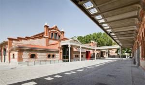 Exterior de la Casa del Lector. Matadero Madrid.