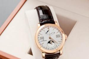 Subasta N.503 – Diciembre 2013.  Reloj de pulsera para caballero, marca JAEGER LECOULTRE  (Lote n. 101). Foto: Durán Arte y Subastas.