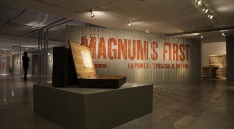 """""""Magnum's first"""", del fotoperiodismo al arte fotográfico"""