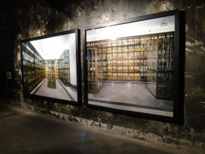 """Detalle de la obra """"Es Capital"""" de Cristina Lucas, Abierto x Obras, Matadero Madrid, 2014. Foto: Durán Arte y Subastas."""