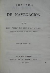 Subasta N.504 – Enero 2014. Tratado de navegación, de Josef Mendoza y Ríos. (Lote n. 3118). Foto: Durán Arte y Subastas.