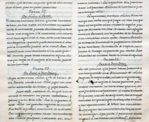 Cartas marruecas de José Cadalso [ca. 1800] Manuscrito. Biblioteca Lázaro Galdiano. © Fundación Lázaro Galdiano. Madrid.