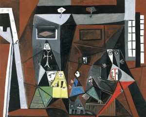 Foto: Pablo Picasso, Las Meninas, 1957. Óleo sobre lienzo, 129 x 161 cm. Donación Pablo Picasso, 1968. Museu Picasso, Barcelona.© Gasull / Sucesión Pablo Picasso, VEGAP, Madrid, 2014. Cortesía Fundación Mapfre.