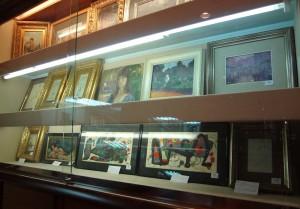 Subasta 505 – Febrero 2014. Vista de la exposición en la sala. Foto Durán Arte y Subastas.