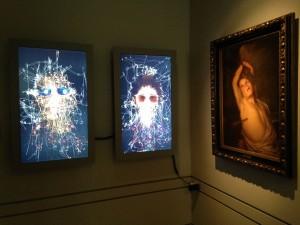 A la izquierda: Mariano Sardón, 200 miradas sobre Marlise y Anibal, de la serie Morfología de la mirada, 2013. Díptico. Colección Jozami. Foto: Durán Arte y Subastas.