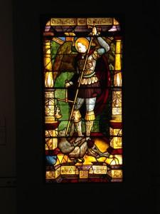 Antonio da Pandino, San Miguel pesando las Almas, Milán último cuarto del Siglo XV.  Museo Lázaro Galdiano. Foto: Durán Arte y Subastas.