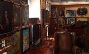 Subasta 506 – Marzo 2014. Vista de la exposición en la sala. Foro: Durán Arte y Subastas.