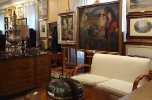 Subasta 507 – Abril 2014. Vista de la exposición en la sala. Foro: Durán Arte y Subastas.