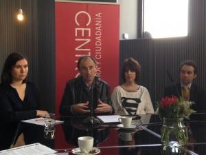 Inés Caballero, José Tono Martínez, Marta Soul, Jacobo García Gemán. Foto: Durán Arte y Subastas, 2014.