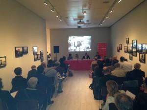 Rueda de prensa de presentación de la nueva Sala de exposiciones Bárbara de Braganza de la Fundación Mapfre. Foto: Durán Arte y Subastas, 2014.