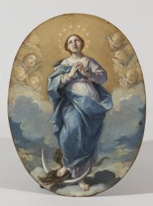 """Subasta Septiembre 2014 (n.512): """"Inmaculada Concepción"""", obra inédita de F. DE GOYA Y LUCIENTES (1774-78). Salida: 47.500 €."""
