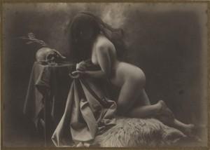 Joan Vilatobà, Sin título, ca. 1904-1905. ©Herederos de Joan Vilatobà. Cortesía Galería A34 Museo del Romanticismo.