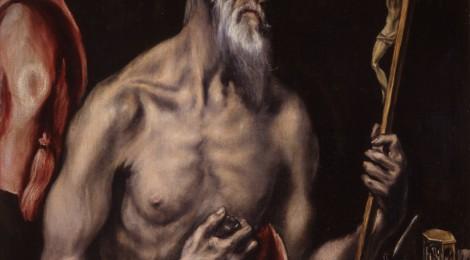 El Greco, San Jerónimo, h. 1605-1610. © RABASF. Cortesía: Real Academia de Bellas Artes de San Fernando, Madrid.