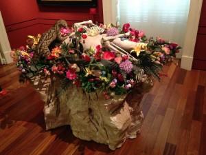 Detalle de obras de Enrique Marty en la exposición Reinterpretada1. Museo Lázaro Galdiano, Madrid. Foto: Durán Arte y Subastas, 2014.