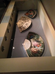 Abanicos del Siglo XVIII, Exposición Colección Lázaro. Museo Lázaro Galdiano.