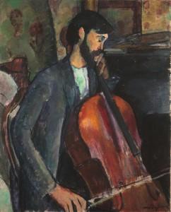 Amedeo Modigliani, El violonchelista.