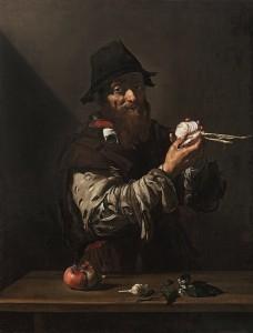 José de Ribera, El Olfato, Colección Abelló.