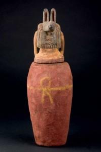 Vaso canopo egipcio, Durán Subastas.