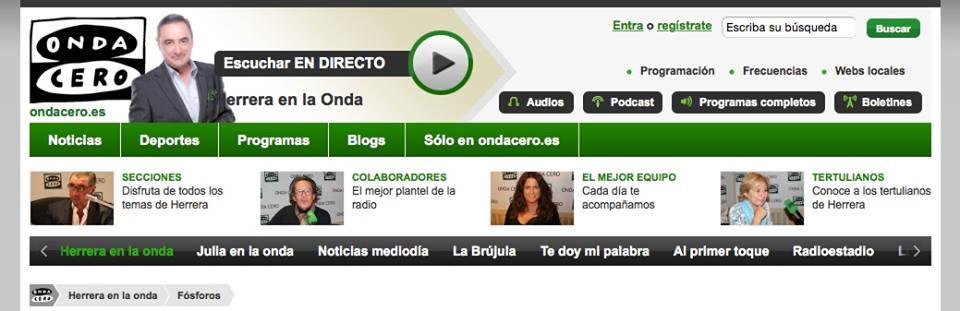 ¡ENTREVISTA A NUESTRA DIRECTORA CONSUELO DURÁN! (ONDA CERO)
