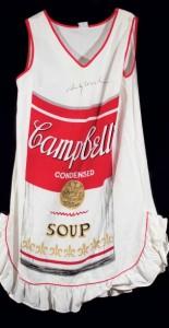 Lote 178, Subasta 515, Vestido tela, Andy Warhol, Diciembre 2014. Durán Arte y Subastas.