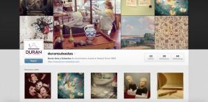 Perfil Instagram, Durán Arte y Subastas.