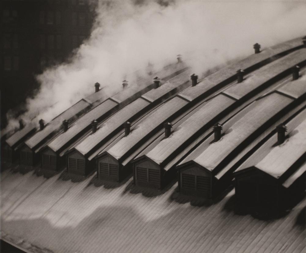 Tejados de la estación, Pittsburgh, Fundación Mapfre, Madrid, 2015.