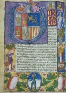 Subasta 516, Enero 2015. Lote n. 3164: Ejecutoria a favor de Hernán Ponce de León. Foto: Durán Arte y Subastas.