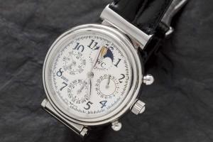 Subasta 517, Febrero 2015. Lote n. 251: reloj de pulsera para caballero marca IWC. Foto: Durán Arte y Subastas.