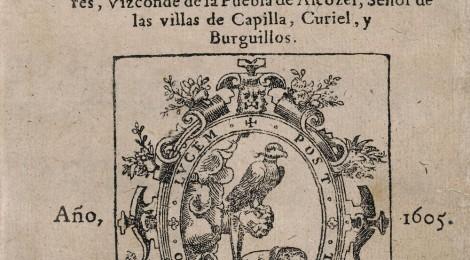 Documento expuesto en Coleccionismo cervantino en la BNE: del doctor Thebussem al fondo Sedó, Biblioteca Nacional de España. Cortesía: BNE, Madrid, 2015.