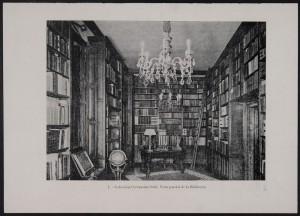 Coleccionismo Cervantino, Vista biblioteca Sedó, Biblioteca Nacional de España, Madrid, 2015.
