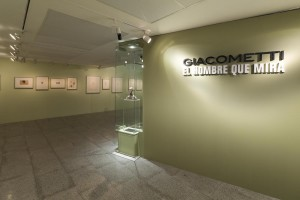 Giacometti. El hombre que mira, Vista exposición, Fundación Canal, Madrid, 2015.