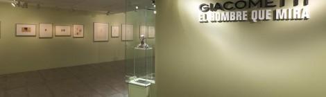 Vista de la exposición Giacometti. El hombre que mira. Fundación Canal, Madrid, 2015. © Fundación Canal. Cortesía: Fundación Canal.