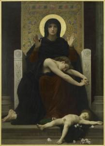 William Adolphe Bouguereau, Virgen de la consolación, París, Musée d'Orsay. Cortesía: Fundación Mapfre, 2015.