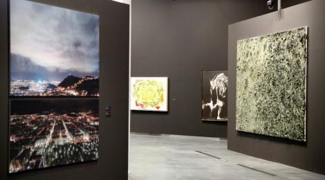 Vista de sala de la exposición La piel translúcida, CentroCentro Cibeles, Madrid. Cortesía: Iberdrola Arte, Madrid, 2015.