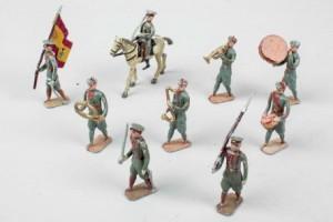 Subasta 518, Marzo 2015. Lote n. 354: Soldados de plomo, Cadetes Academia MIlitar. Foto: Durán Arte y Subastas.