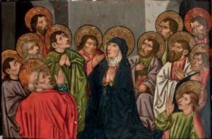 Subasta 519, Abril 2015. Lote n. 114: Pentecostés, Juan I de la Abadía. Foto: Durán Arte y Subastas.