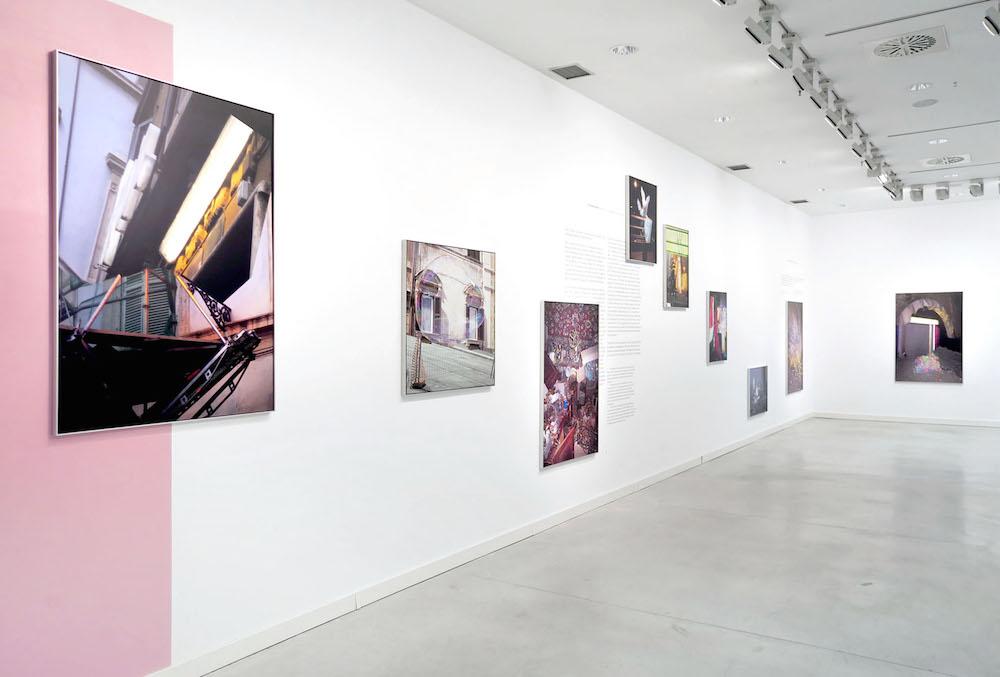 Exposición The Random Series. Miguel Ángel Tornero. Centro Arte Alcobendas, 2015.