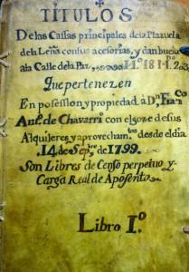 Subasta 521, Junio 2015. Lote n. 3057: Documentación manuscrita de la Plazuela de la leña, 1755. Foto: Durán Arte y Subastas.