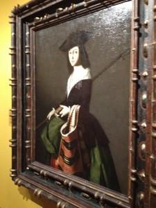 Francisco de Zurbarán, Santa Marina, c. 1640-1650. Museo Thyssen-Bornemisza, ZURBARÁN: una nueva mirada, 2015.