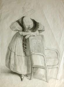 Rosario Weiss, Figura femenina. Burdeos o Madrid, 1830-38. Museo Lázaro Galdiano. Madrid, 2015.