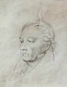 Rosario Weiss, Retrato de Goya.Burdeos, 1828. Museo Lázaro Galdiano. Madrid, 2015.