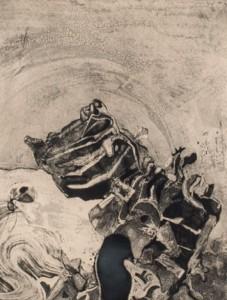 Subasta 522, Julio 2015. Lote n. 149: Lucio Muñoz, Composición. Foto: Durán Arte y Subastas.