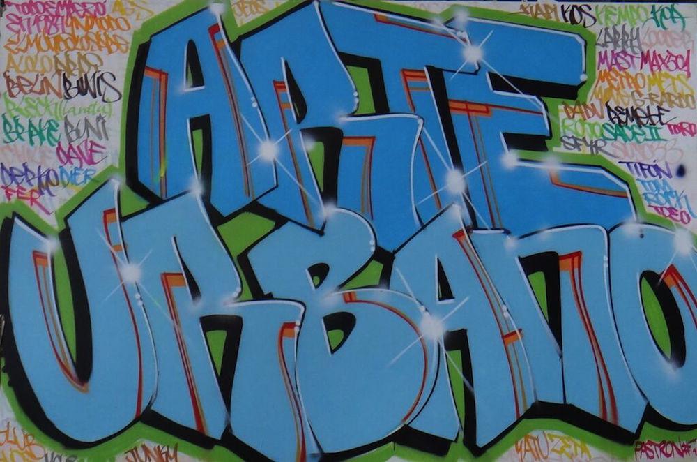 Arte Urbano, obra de Pastron7 creada in situ en nuestro stand en el festival de Arte Urbano MULAFEST. Madrid, 2015.