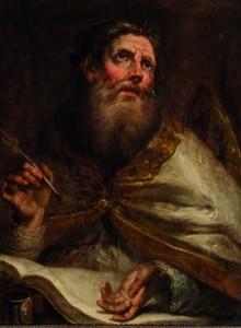 Subasta 523, Septiembre 2015. San Ambrosio. Atribuido a Francisco de Goya y Lucientes Foto: Durán Arte y Subastas.
