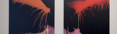 Alberto Corazón. Diseño: la energía del pensamiento gráfico. 1965-2015. Detalle de la exposición. Espacio Telefónica. Madrid, 2015. Cortesía: Espacio Telefónica. Madrid, 2015.